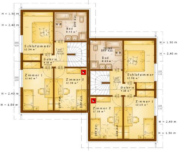 Plan-Obergeschoss