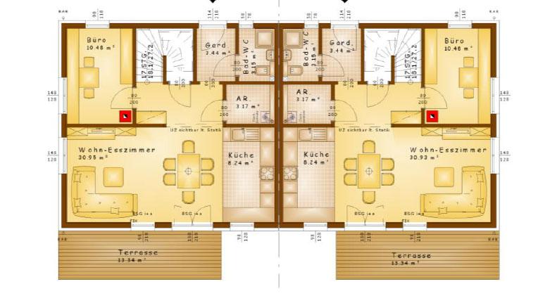 Plan-Erdgeschoss