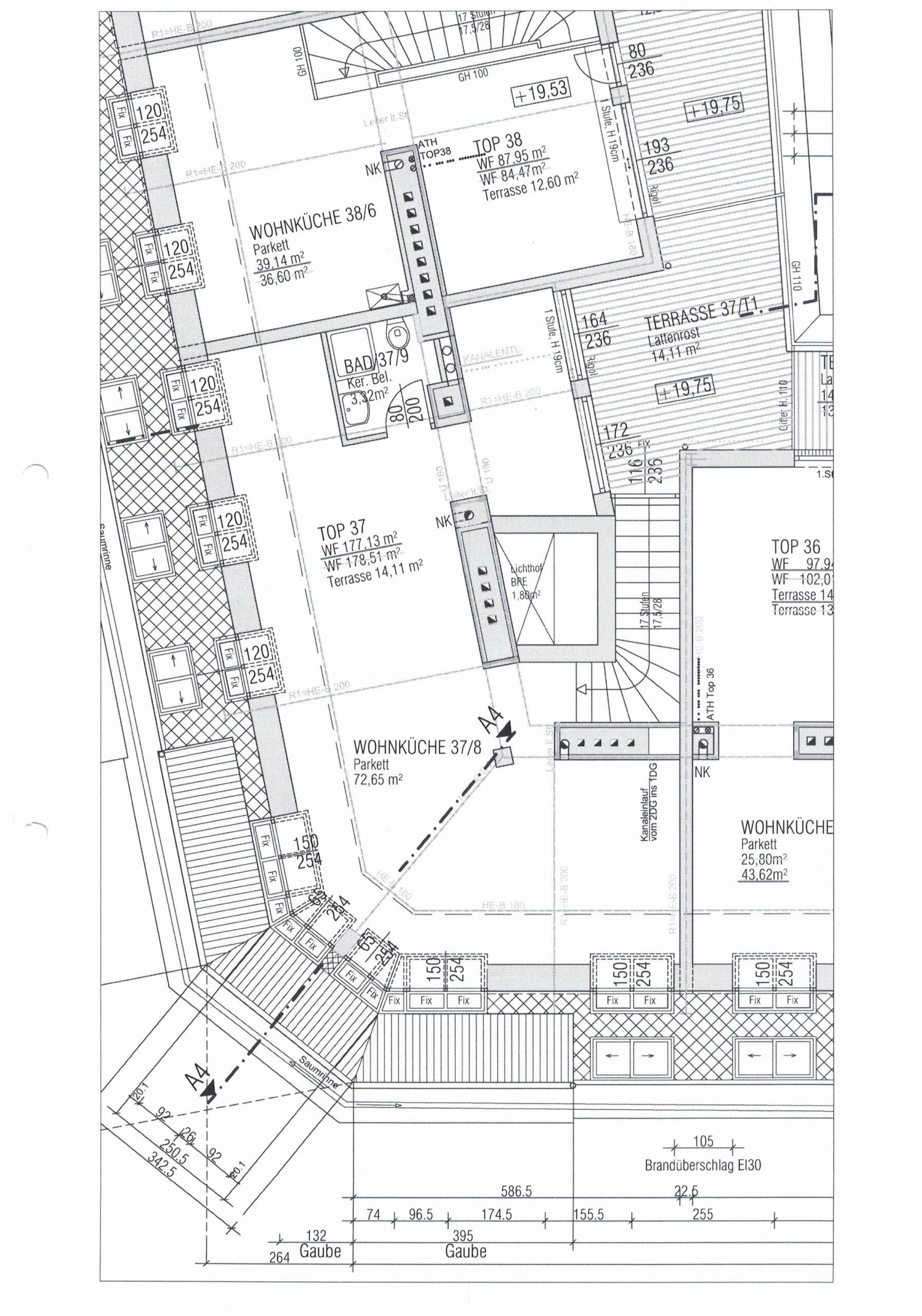 Plan-Dachgeschoss